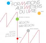 Formations aux métiers du livre, région par région