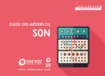 Guide des métiers du son
